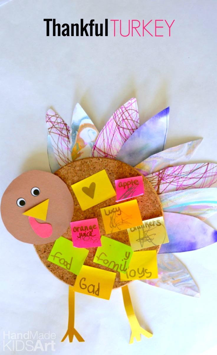 Thankful Turkey Corkboard