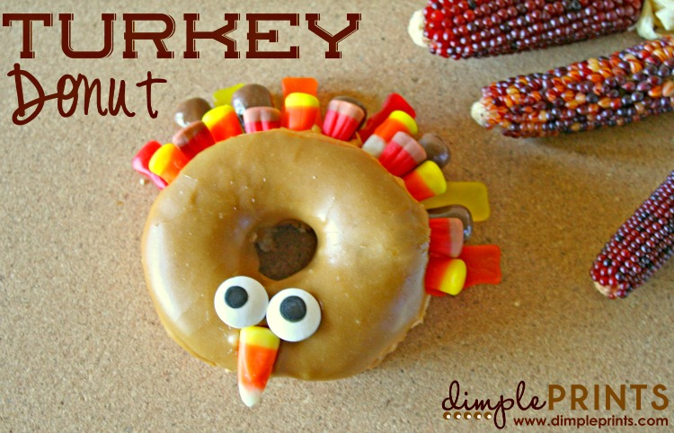 Thanksgiving Turkey Donut