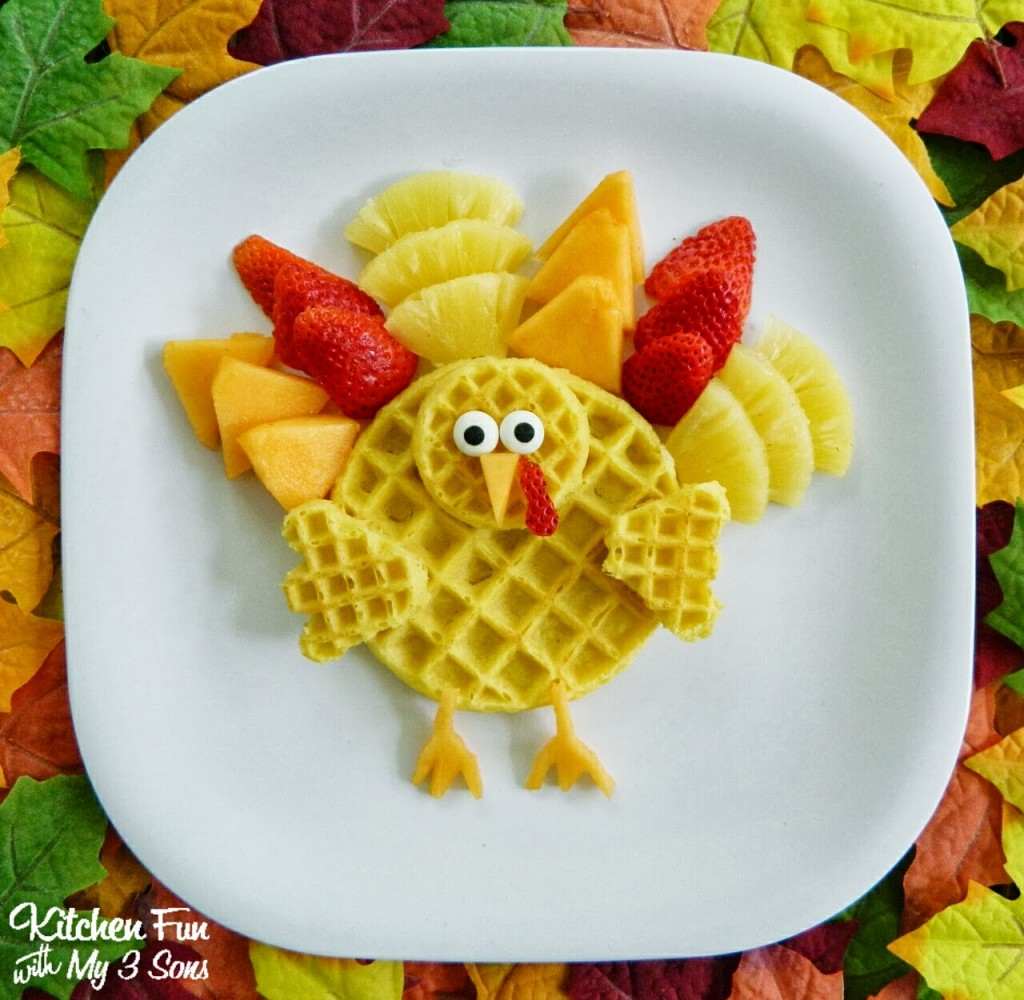 Turkey Breakfast : Gobble Up Some Waffles