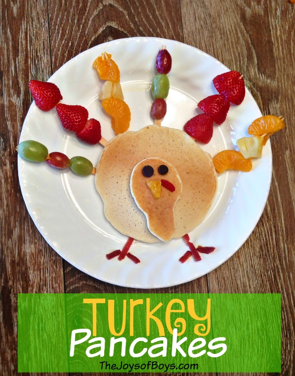 Turkey Pancakes Easy Thanksgiving Breakfast Cute Diy Projects