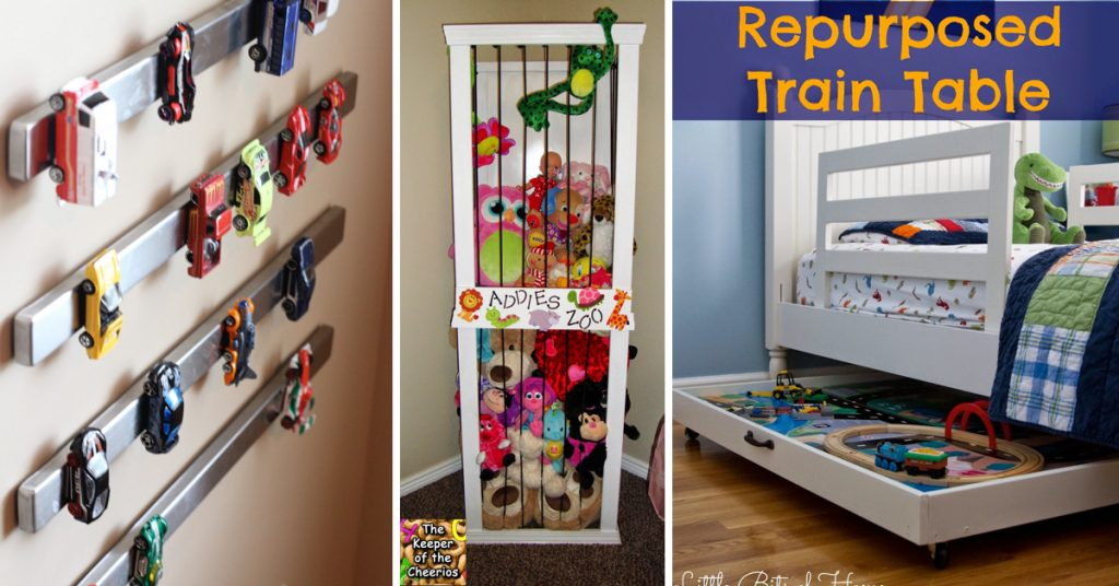 30 Kids Room Organization Ideas Stretching From Toys to Nitty-Gritty School Supplies!
