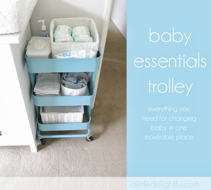 Baby Essential Trolley