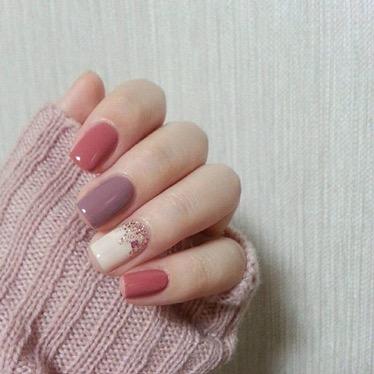 Fall-Perfect Pink Mani