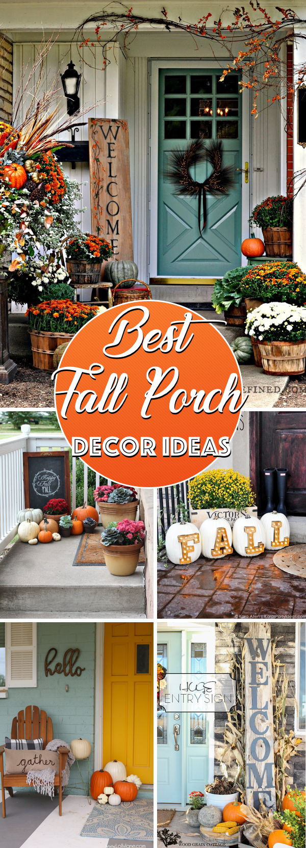20 Fall Porch Decor Ideas Dressing up Your Space For the Autumn Season