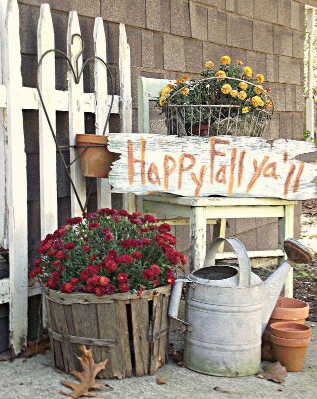 Farmhouse Theme Happy Fall Y'all