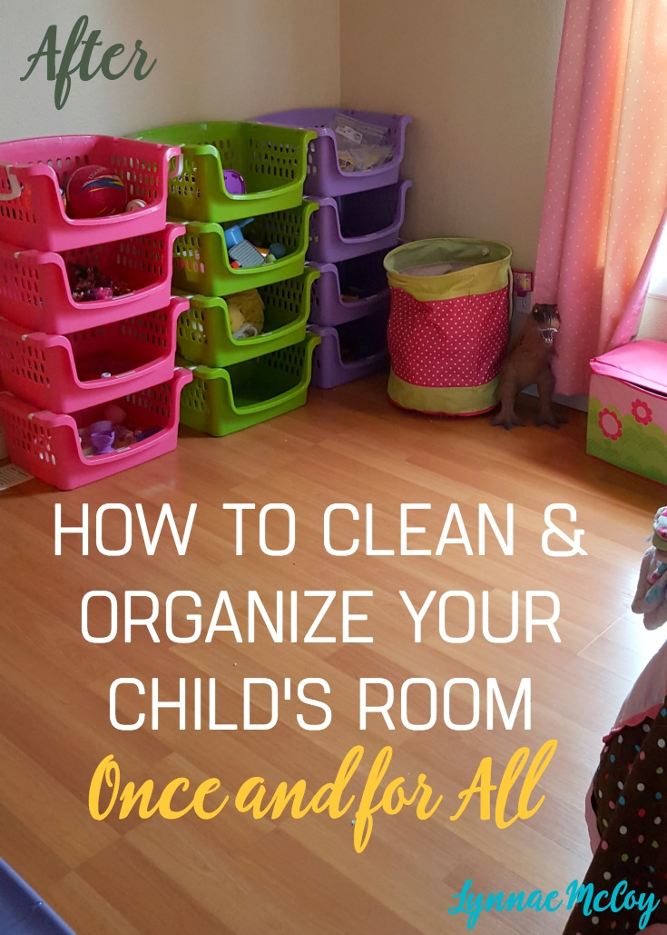 How to Clean and Organize your Kid's Room