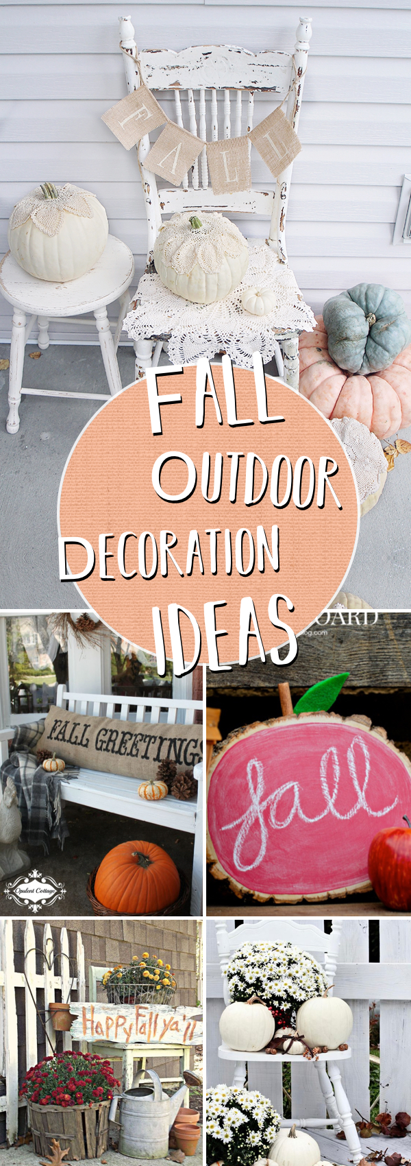 20 Incredible Inspirations for a Fall Outdoor Decor Getting The Home Season-Ready