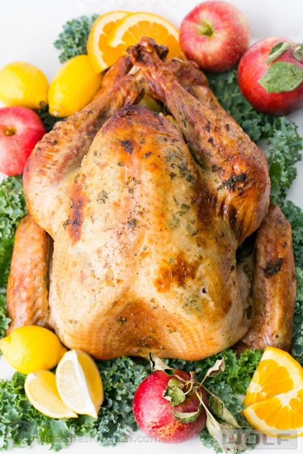 Juicy Roast Turkey Recipe