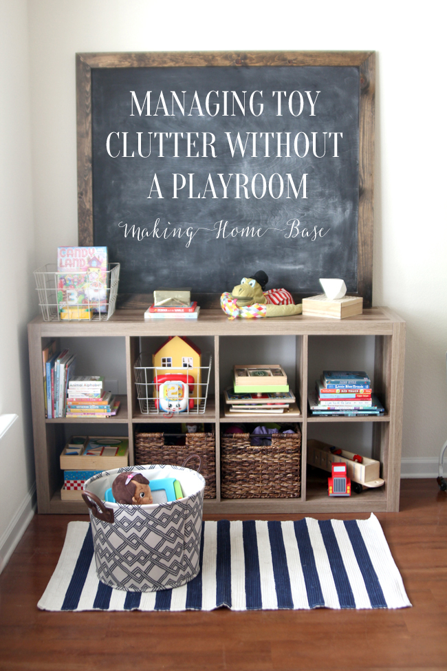 Managing Toy Organization Without A Playroom Cute Diy Projects