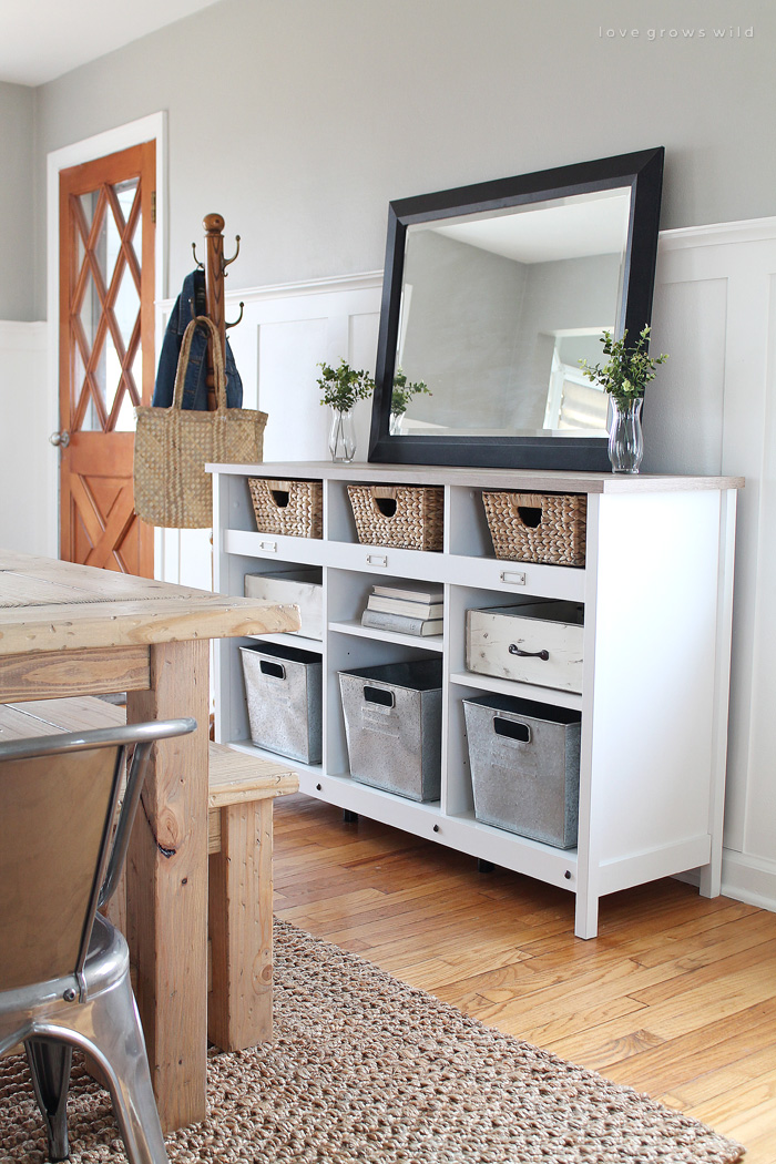 Multi-Purpose Entryway Storage