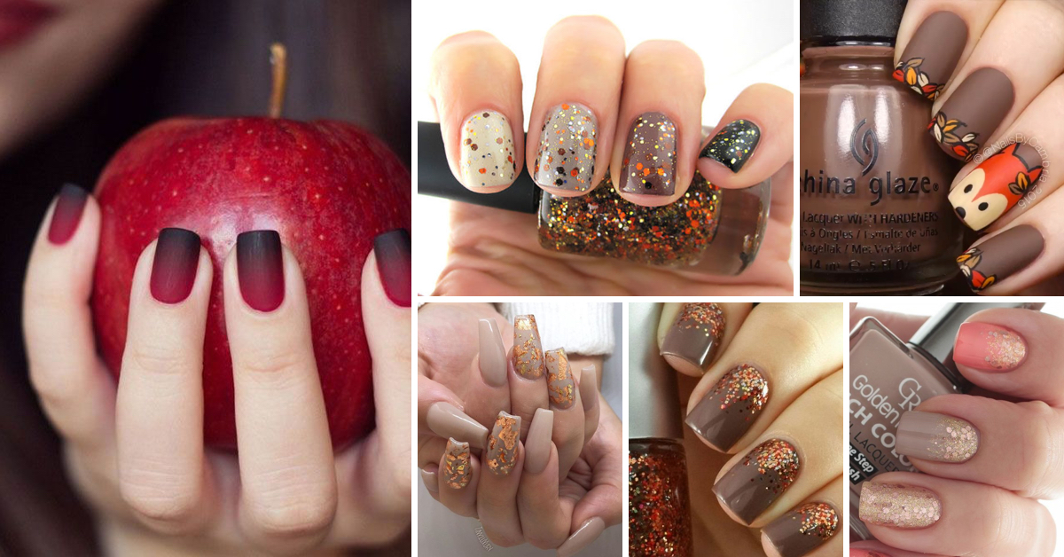 25 Ultra-Pretty Fall Nail Designs To Let Your Fingertips Celebrate ...