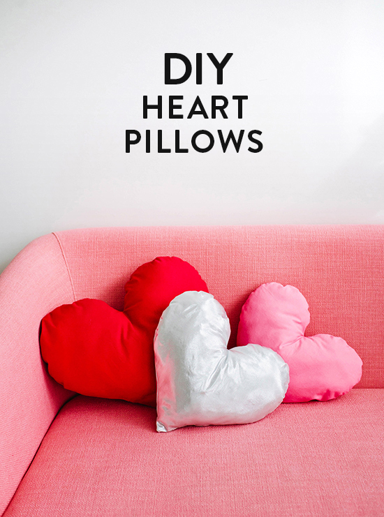 Adorable Heart Pillows
