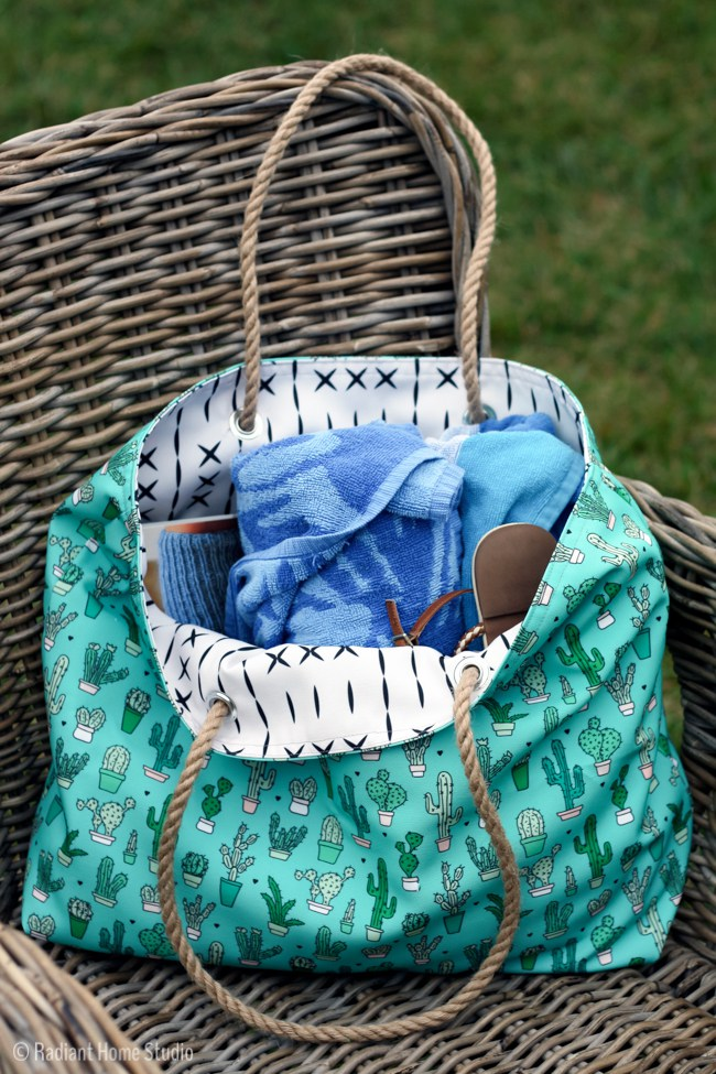 Beach Tote Tutorial