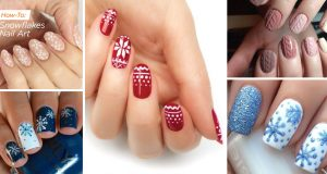 Beautiful Winter Nail Designs Shrinking the Season to Your Fingertips