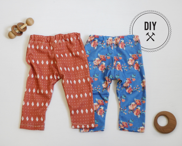 DIY Baby Leggings