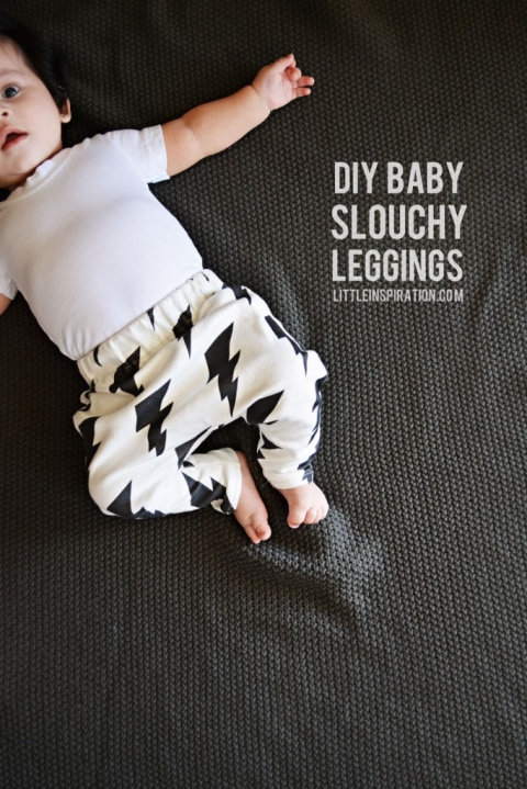 DIY Baby Slouchy Leggings