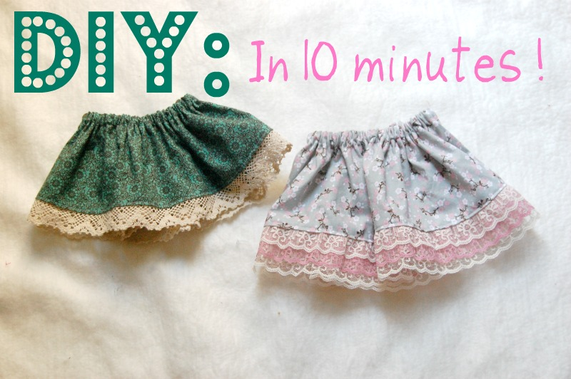 DIY Baby and Toddler Skirt Tutorial