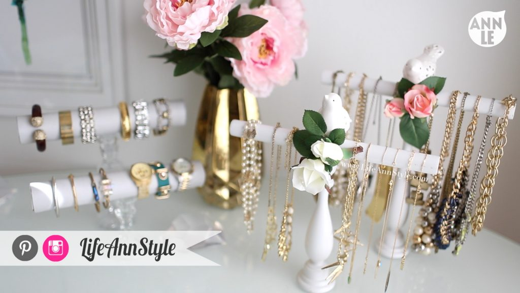 DIY Necklace Bracelet Holder