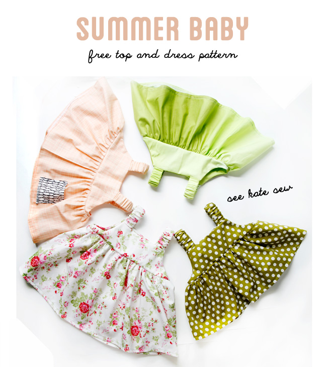 Easy Baby Summertime Dress
