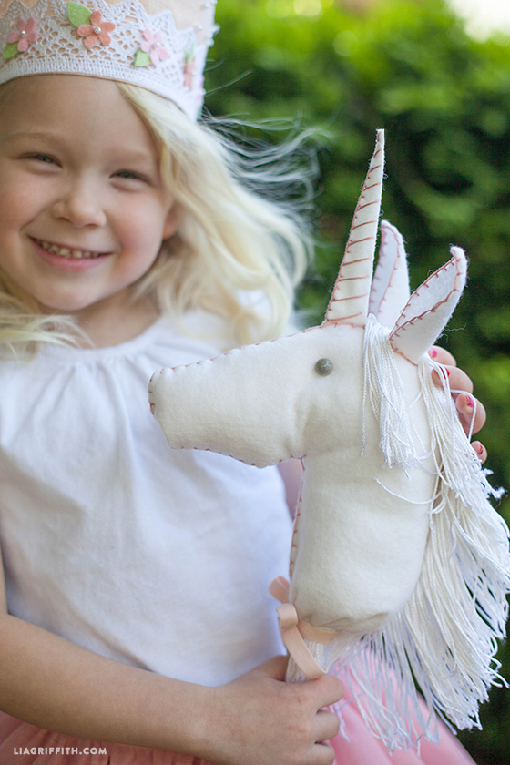 Felt Stick Unicorn for Your Little Princess
