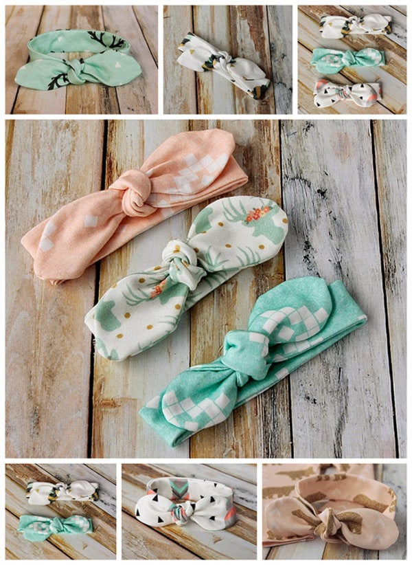 How to Make Knot-Bow Headbands for Babies
