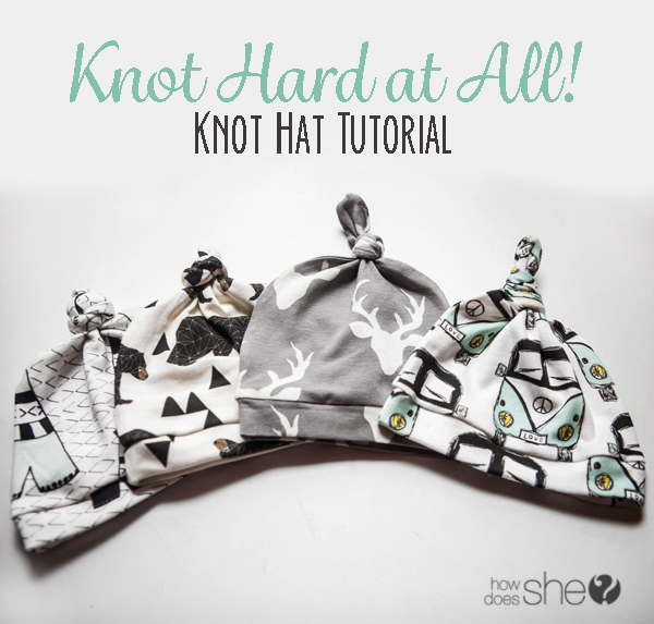 Knot Hard at All : Knot Hat