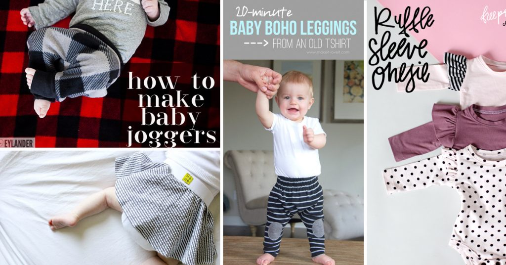 Unbelievably Adorable DIY Baby Clothes You Can Put Together At Home