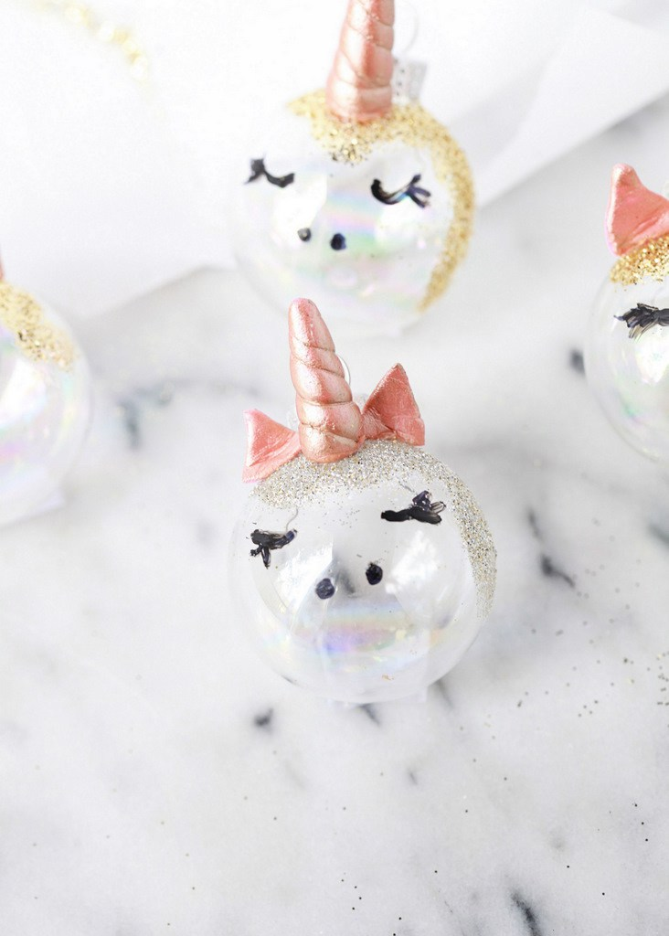 Unicorn Ornaments DIY
