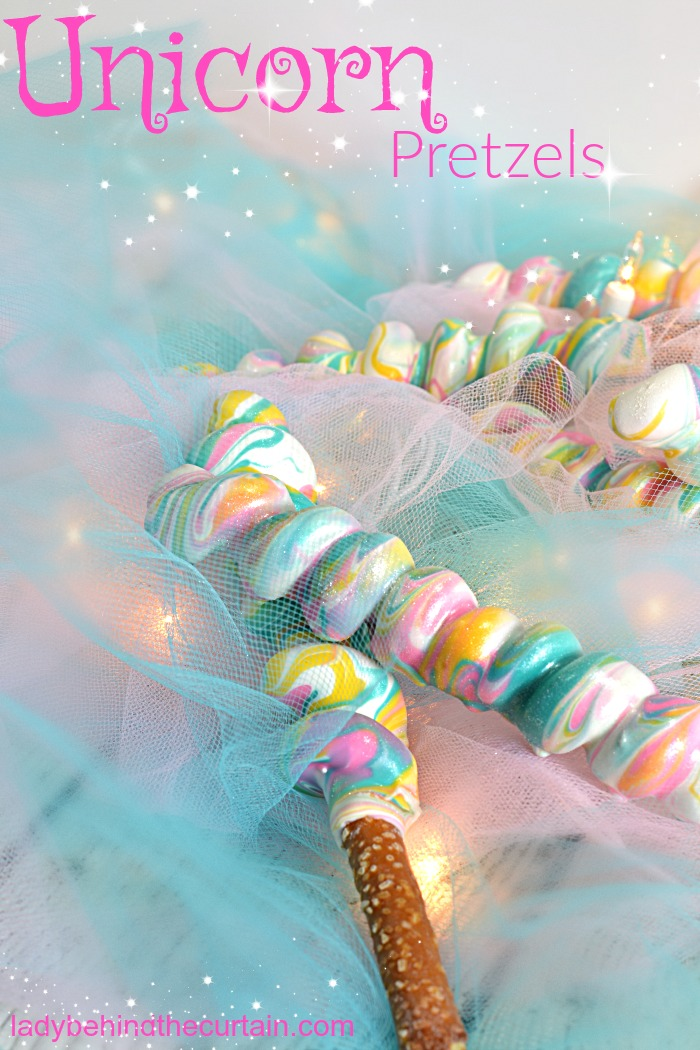 Unicorn Pretzels