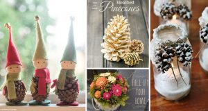 20 Pinecone DIY Projects Making Fall a Thing of Rustic Natural Beauty