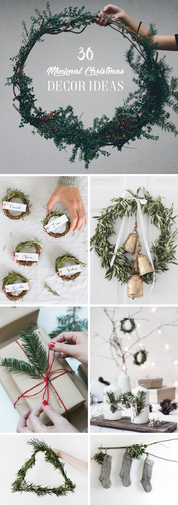 30 Minimal Christmas Decor Ideas for The Subtle-Lovers Out There!