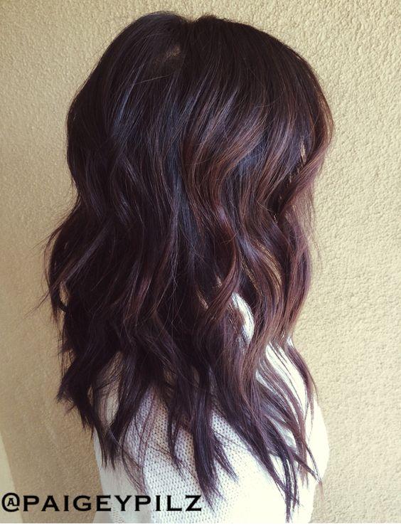 Dark Brown Blonde Balayage