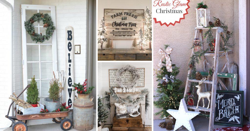 Enchanting Farmhouse Christmas Decoration Ideas Screaming with Festive Joy