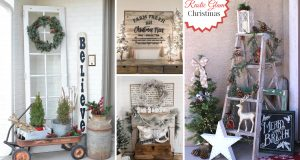 Enchanting Farmhouse Christmas Decoration Ideas Screaming with Festive Joy