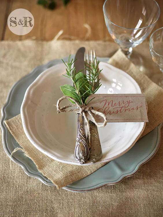 Fresh Green Cutlery Decor