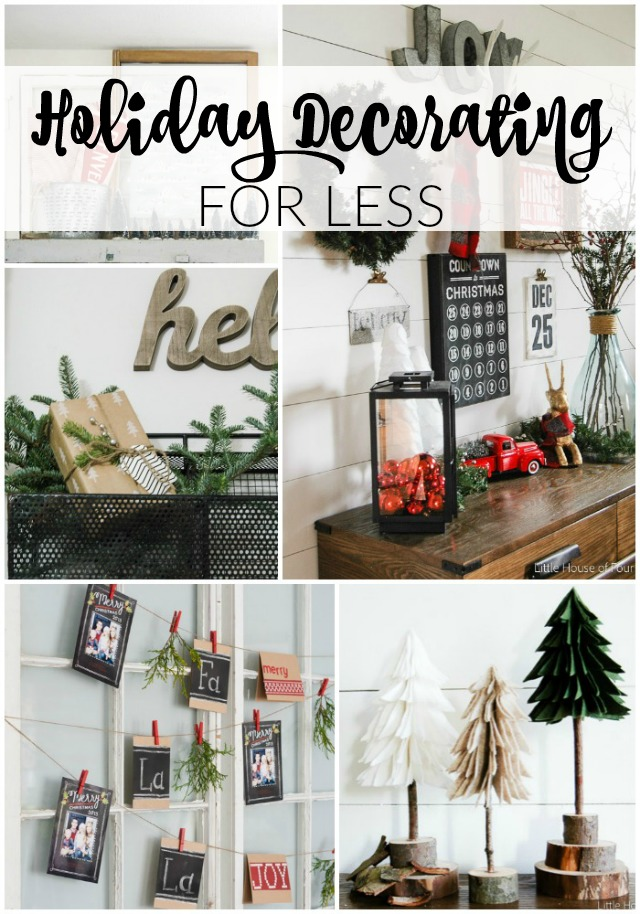 Holiday Decorating for Less