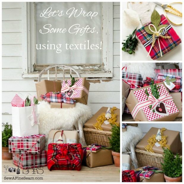 How to Wrap Gifts With Textiles