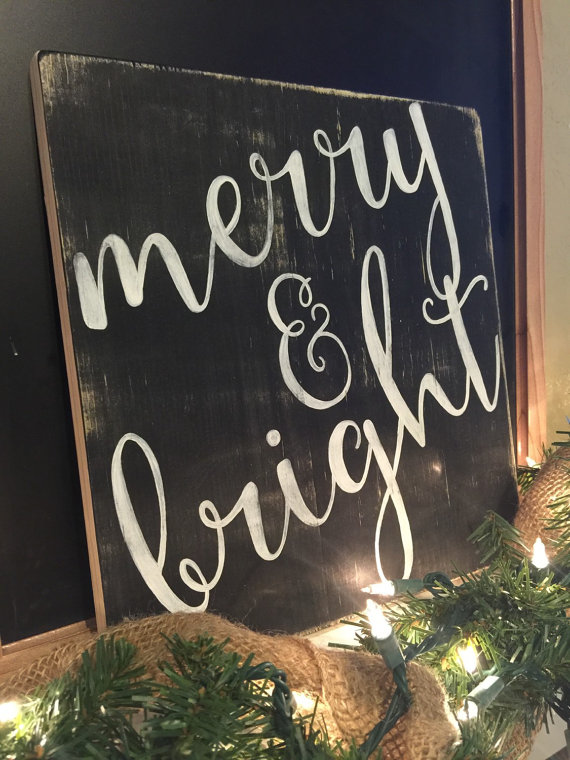 Merry and Bright Farmhouse Christmas Decor