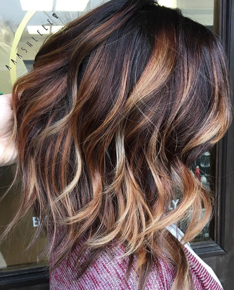 25 fall hair color trends adding a dash of autumn to your tresses ombre streaks solutioingenieria Gallery