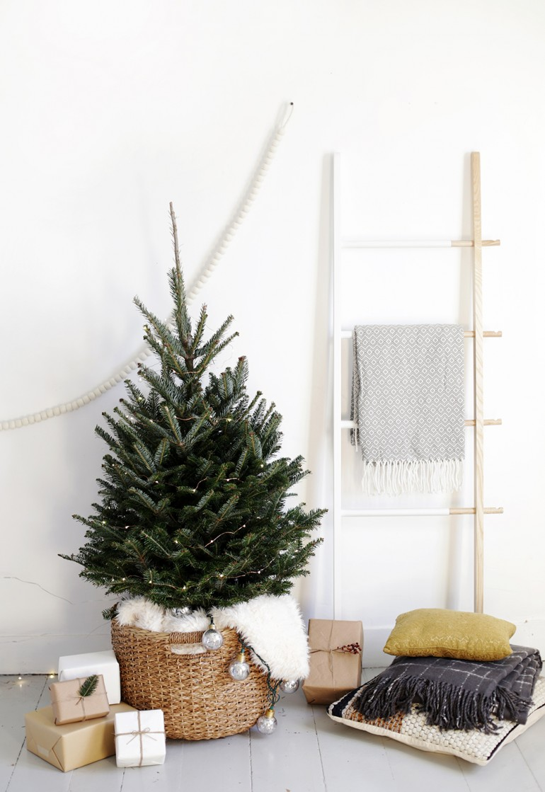 Simple Christmas Tree Display