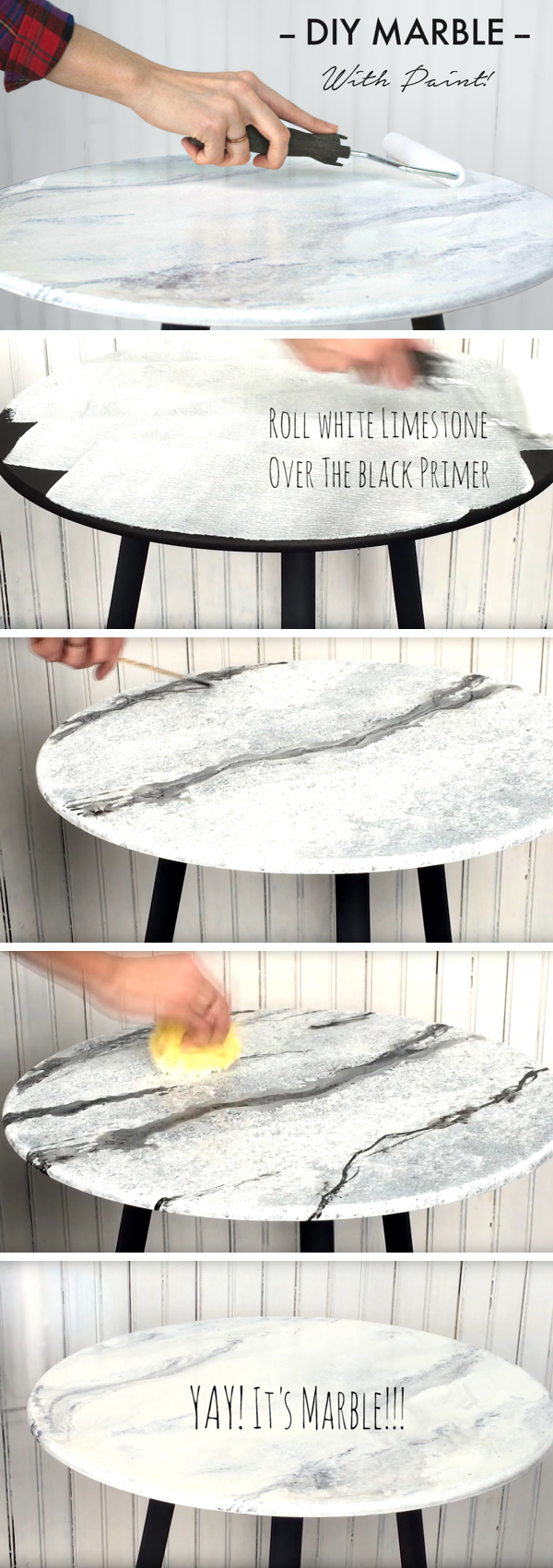 This Technique to Work Up DIY Marble with Giani is All About True Luxury!