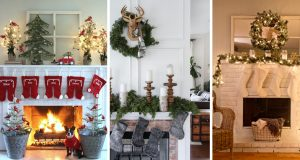 20 Ideas for a Christmas Mantel Decor Worth Remembering for Years