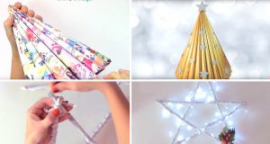 5 Beautiful DIY Christmas Recyclced Decoration