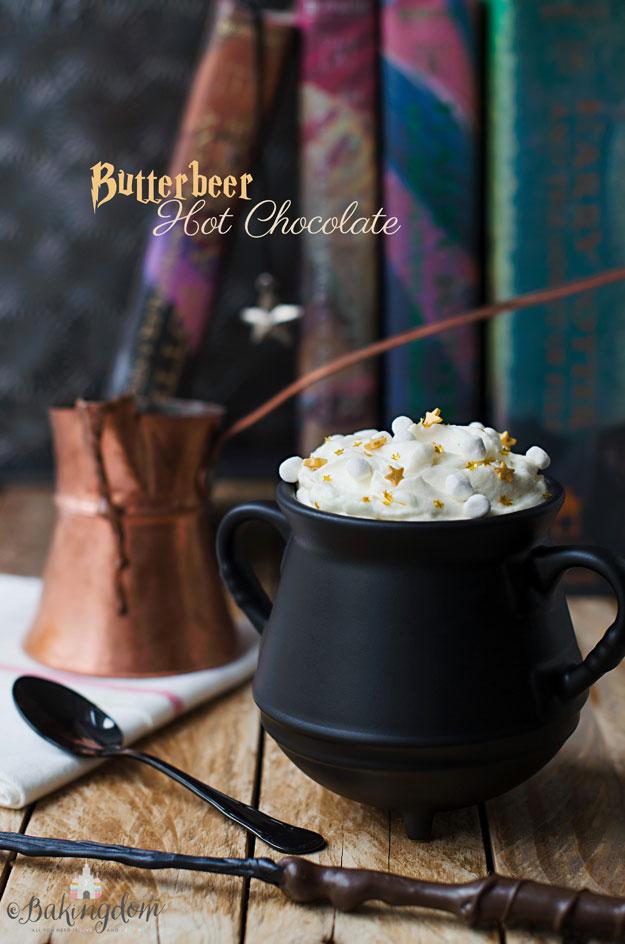 Butterbeer (Butterscotch) Hot Chocolate