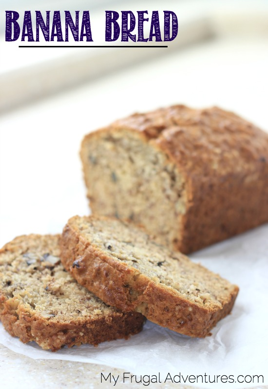 Copycat Banana Bread Recipe
