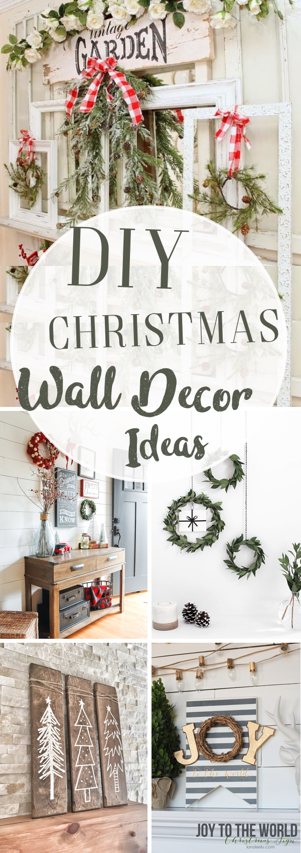 diy christmas wall decor ideas adding holiday cheers to your homes walls - Christmas Wall Decor