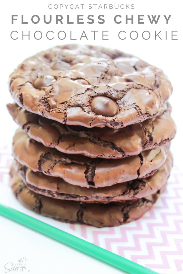 Flourless Chocolate Chewy Cookie