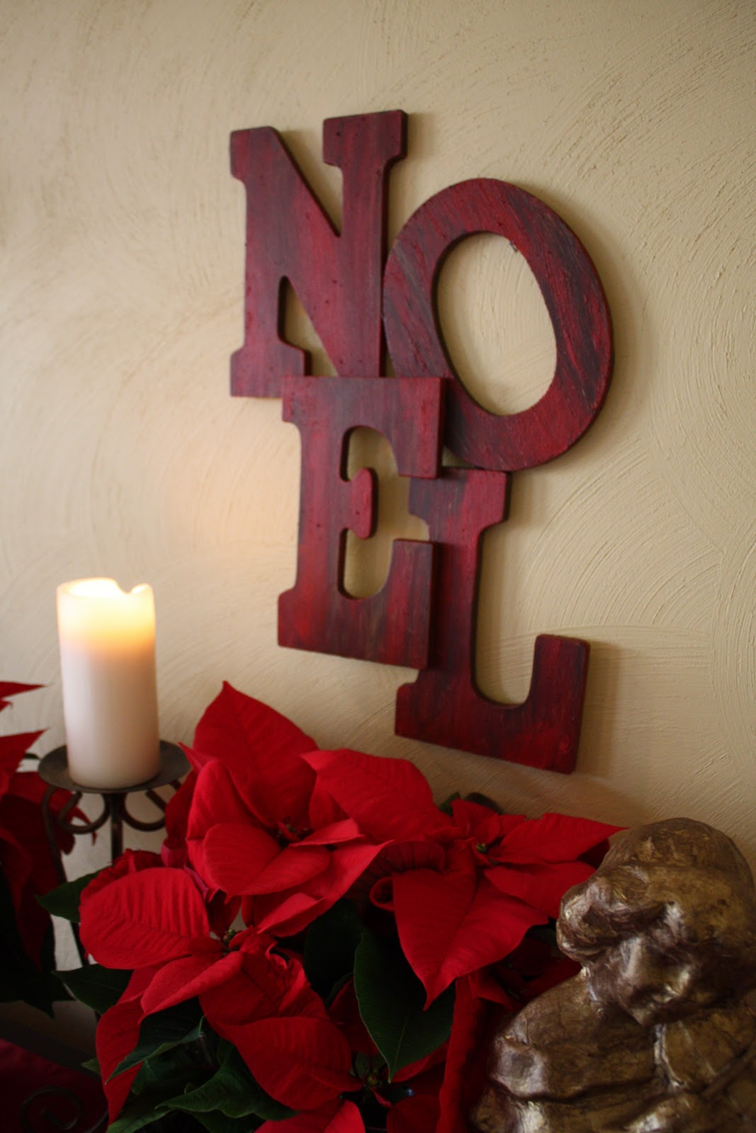 Pottery Barn Inspired Noel Sign