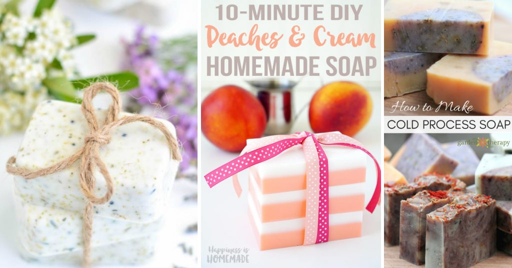 25 Glorious Homemade Soaps That Are a Complete Treat for Your Skin