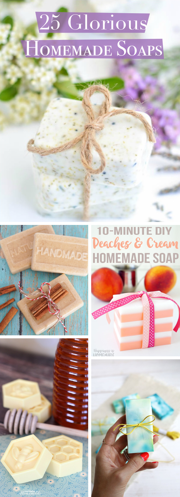 25 Glorious Homemade Soaps That Are a Complete Treat for Your Skin!